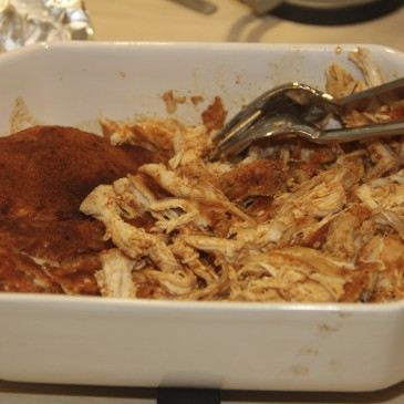 """Pulled chicken"""